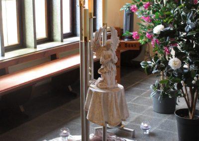 Dekoration bei einer Bestattung