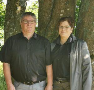 Dirk Schmidt und Diana Gauer